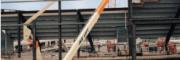 发动机动力曲臂自行式高空作业平台 高空作业平台 登高车