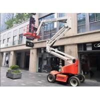 上海臂式高空车租赁、剪式升降车出租、25米、36米蜘蛛车租赁