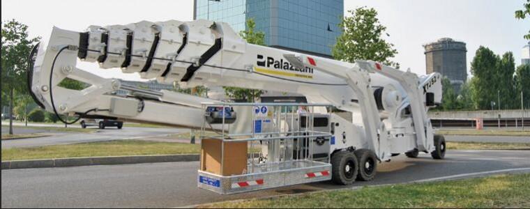 Palazzani(帕拉沙尼)10-52m蜘蛛车