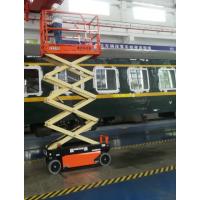 重庆车辆段剪叉升降平台交付使用