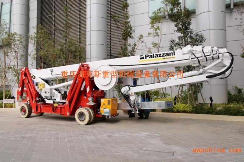 TSJ35蜘蛛车,35m蜘蛛式升降车,进口蜘蛛式高空作业车