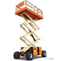 捷尔杰高空平台升降机高空车电动剪式高空作业平台