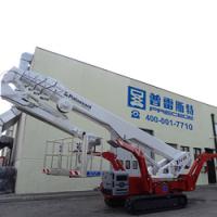 深圳-广州进口35米直臂蜘蛛车-剪叉曲臂式升降平台车租赁