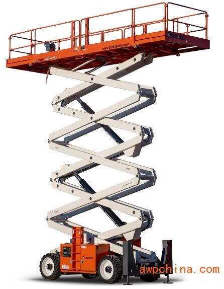 21米大型剪叉升降机