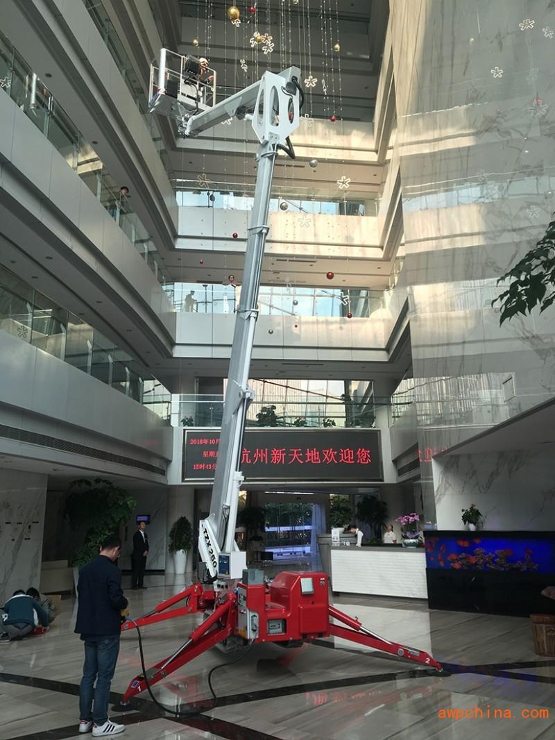 25米蜘蛛车租赁