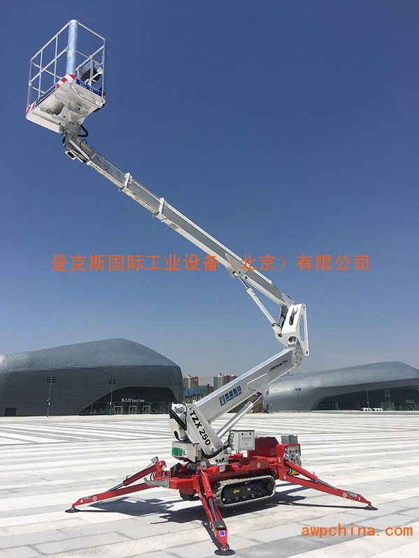 北京蜘蛛车租赁,25m、30米履带式蜘蛛升降车出租